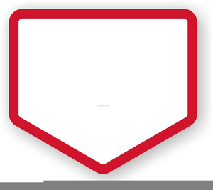 Free Clipart Baseball Bases.
