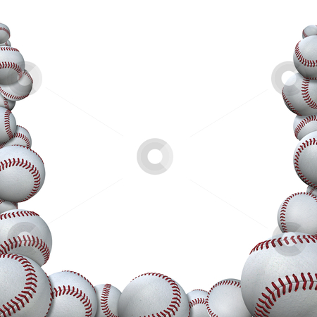 Free Baseball Border, Download Free Clip Art, Free Clip Art.