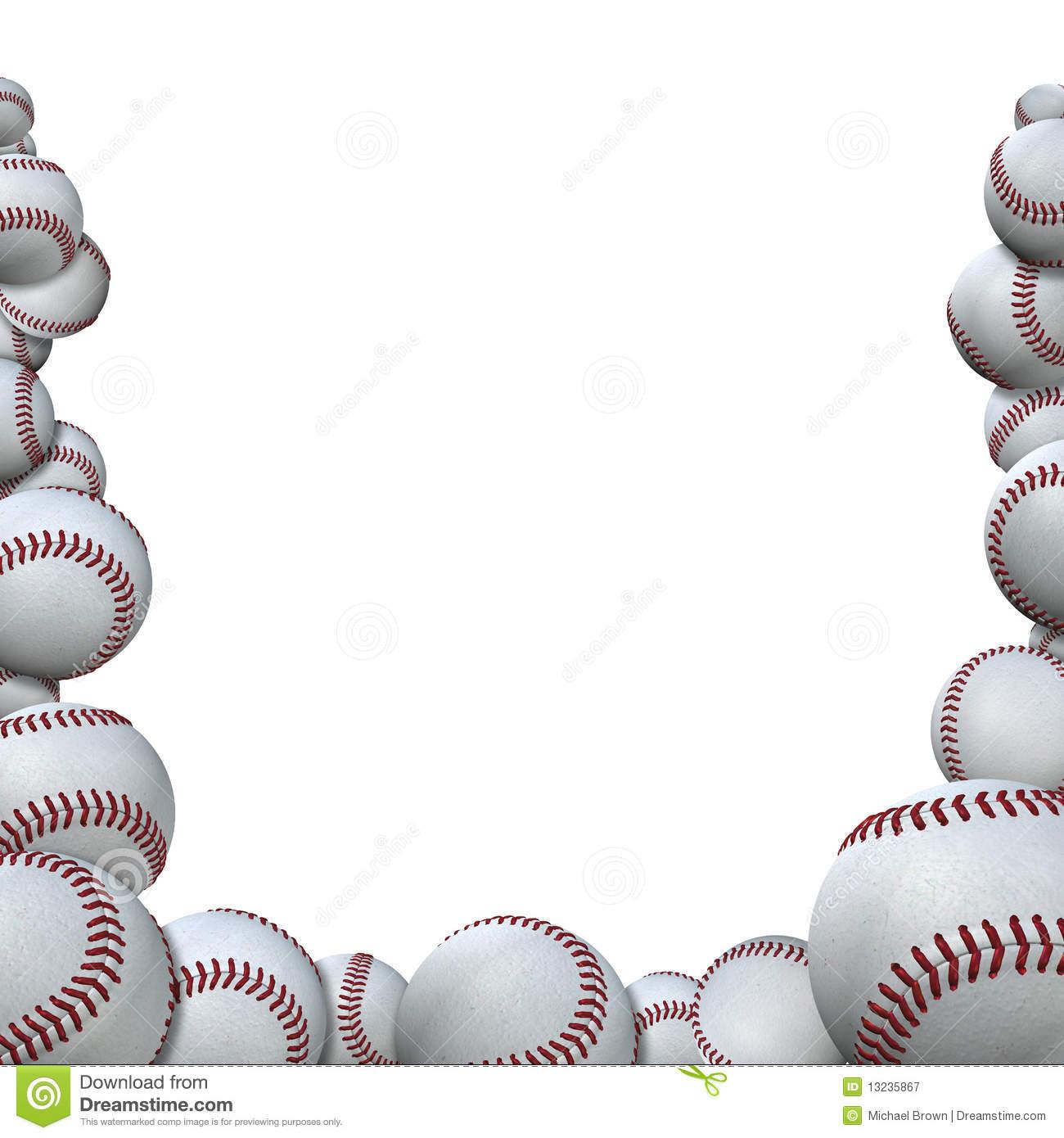 Baseball Background Clipart.