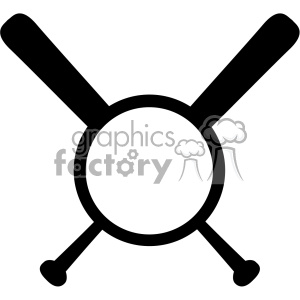 baseball bat heart love monogram svg cut file vector clipart.
