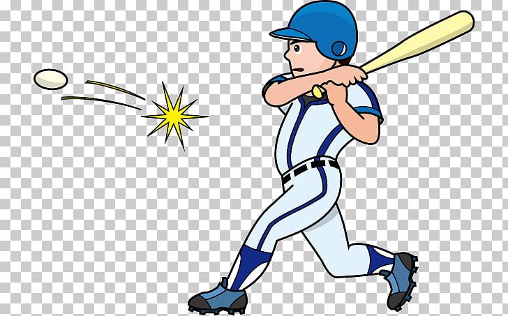 Hit Baseball Bats Batter , baseball PNG clipart.