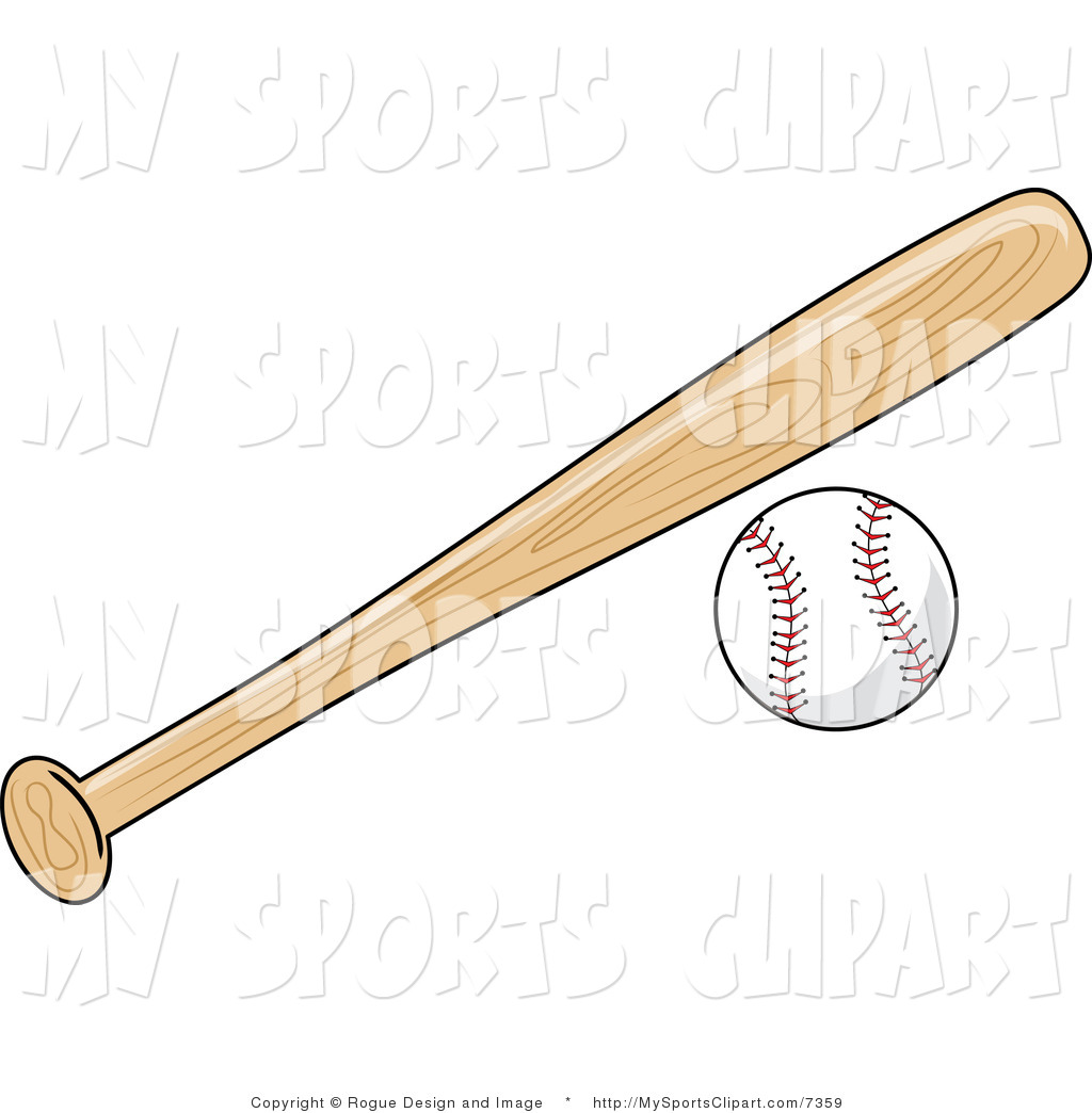 Baseball Bat Clipart.