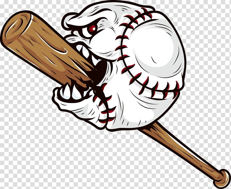 Baseball bat Decal Sticker, Creative Baseball transparent.