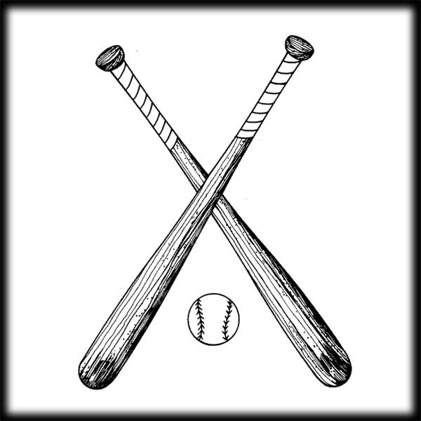 Baseball bat baseball ball and bat clip art free clipart image 4.