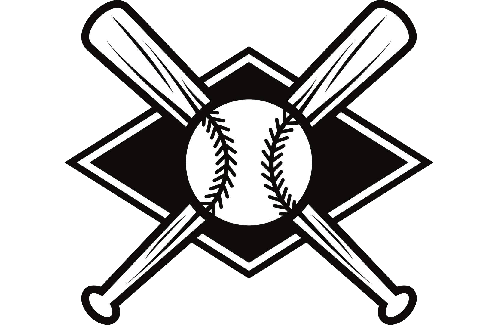 Baseball Bats Batting Clip art Scalable Vector Graphics.