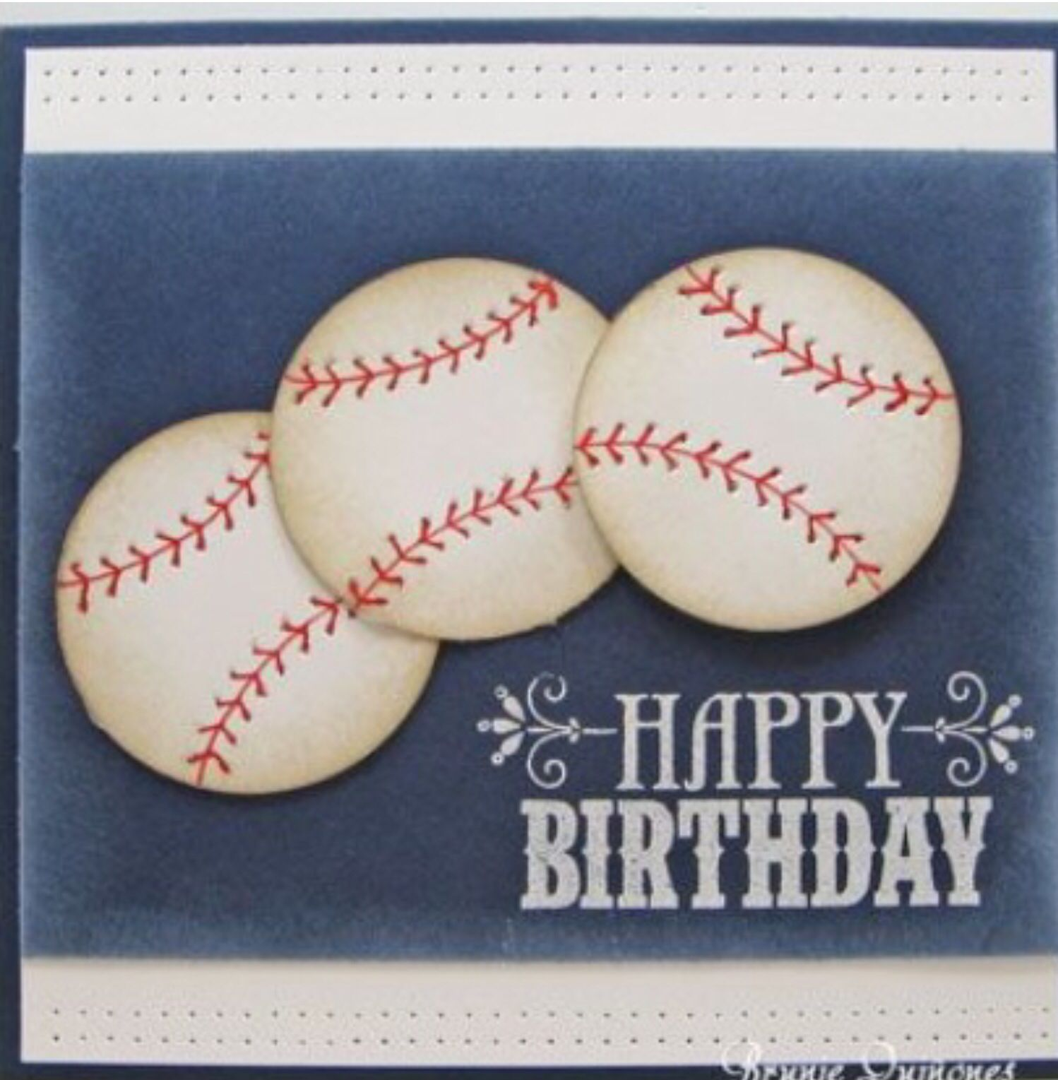 Baseball birthday.