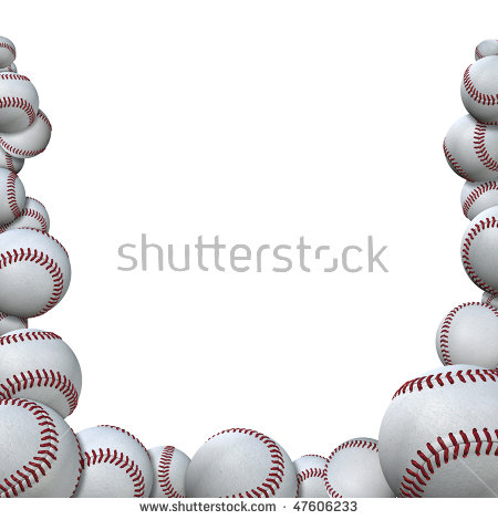 Sport Border Stock Images, Royalty.