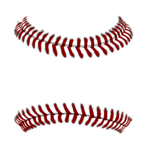 Baseball border clipart for your project.