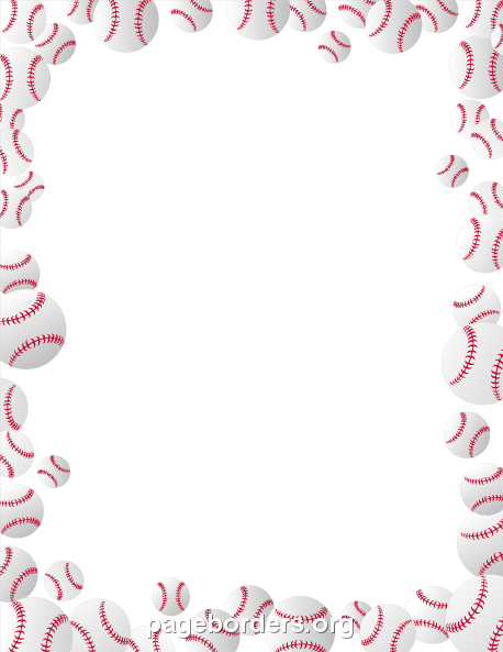 Free Sports Borders: Clip Art, Page Borders, and Vector Graphics.