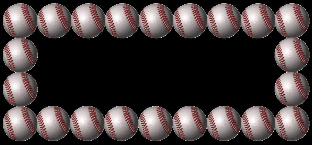 Baseball Page Border.