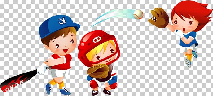 Baseball Child Vecteur, baseball PNG clipart.