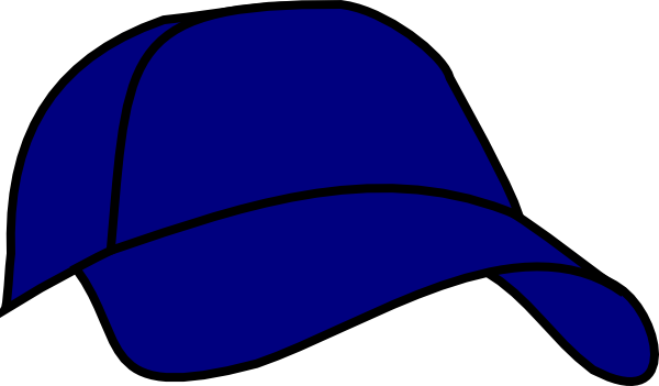 Blue Baseball Cap Clip Art at Clker.com.