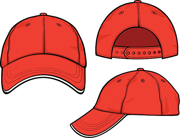 Best Baseball Cap Illustrations, Royalty.