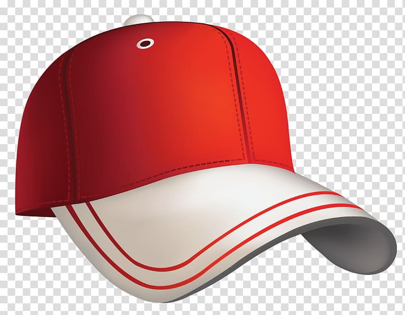 Baseball cap , Red Baseball Cap , red and gray fitted cap.