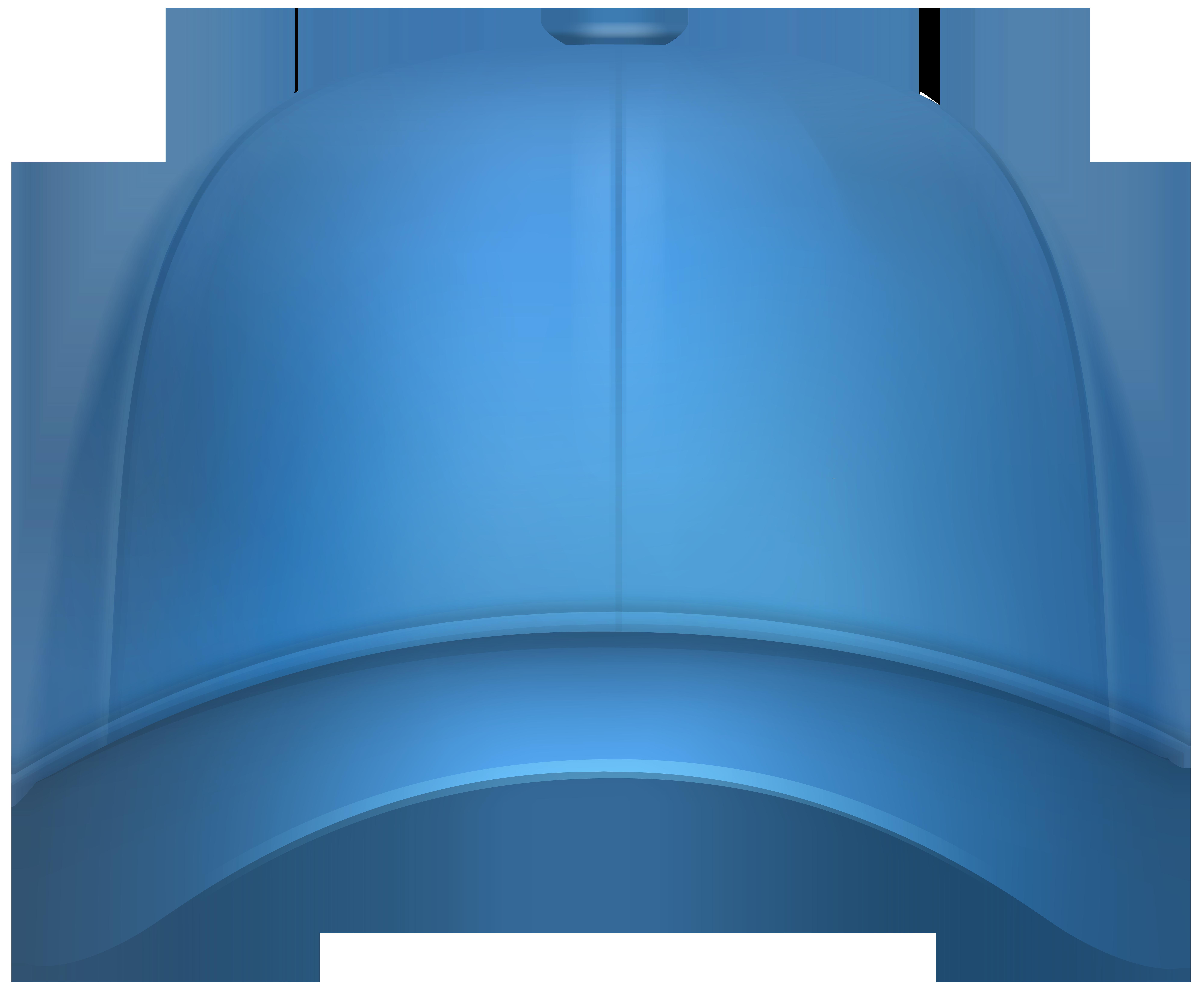 Baseball Cap Blue PNG Clip Art Image.