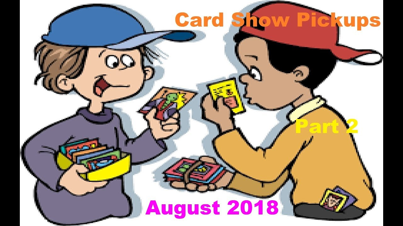 Battlefield Mall Card Show 2018 Part 2 (vintage basketball and baseball  cards).