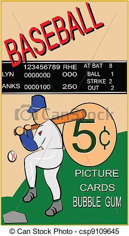 Baseball card Vector Clipart EPS Images. 1,802 Baseball card clip.