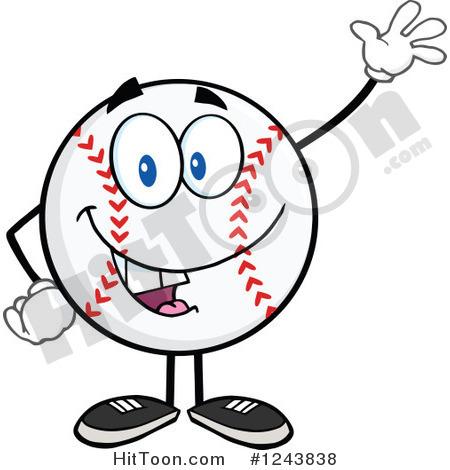 Cartoon Baseball Clipart.