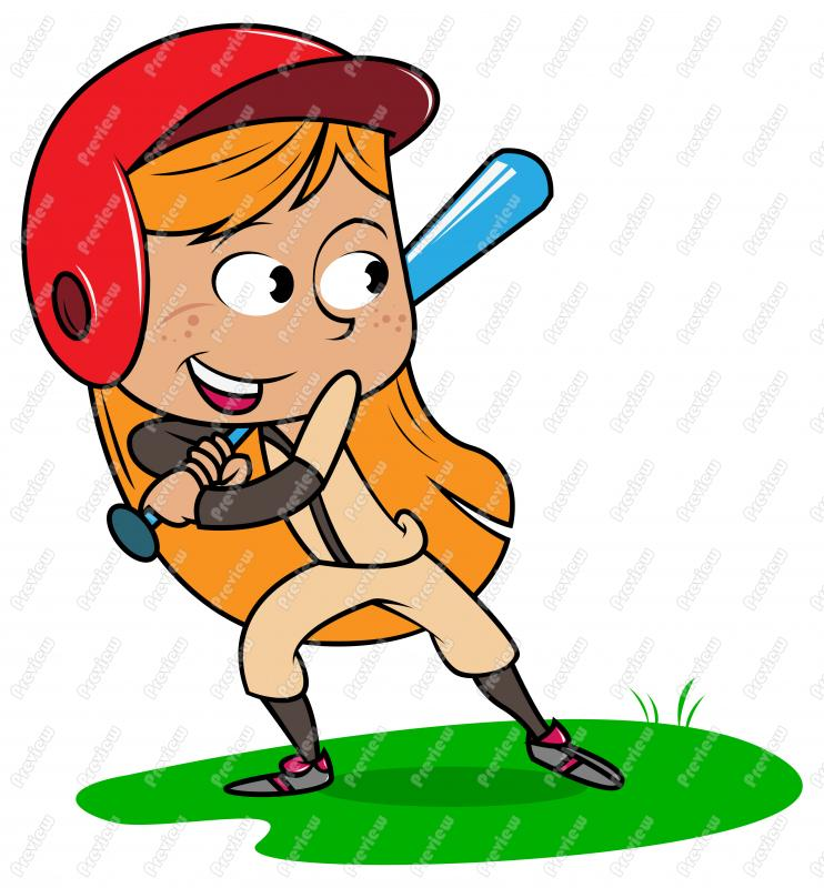 Baseball Cartoon Clipart.