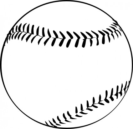 Baseball Clip Art Free Printable.
