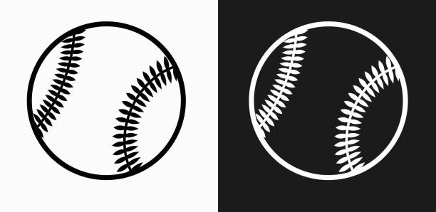 Best Baseball Clipart Black And White Illustrations, Royalty.