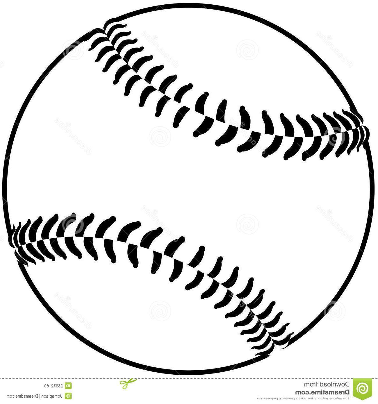 Black and white baseball clipart 2 » Clipart Portal.