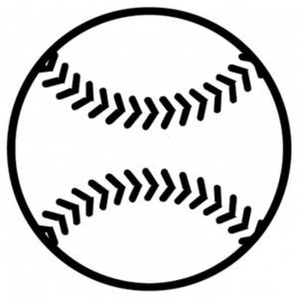 98+ Baseball Clipart Black And White.