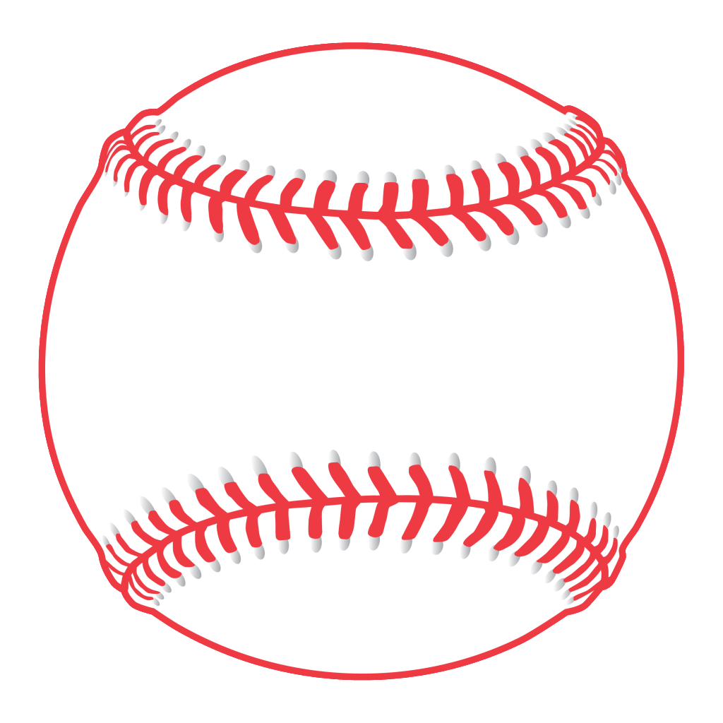 Download High Quality baseball clipart black and white.