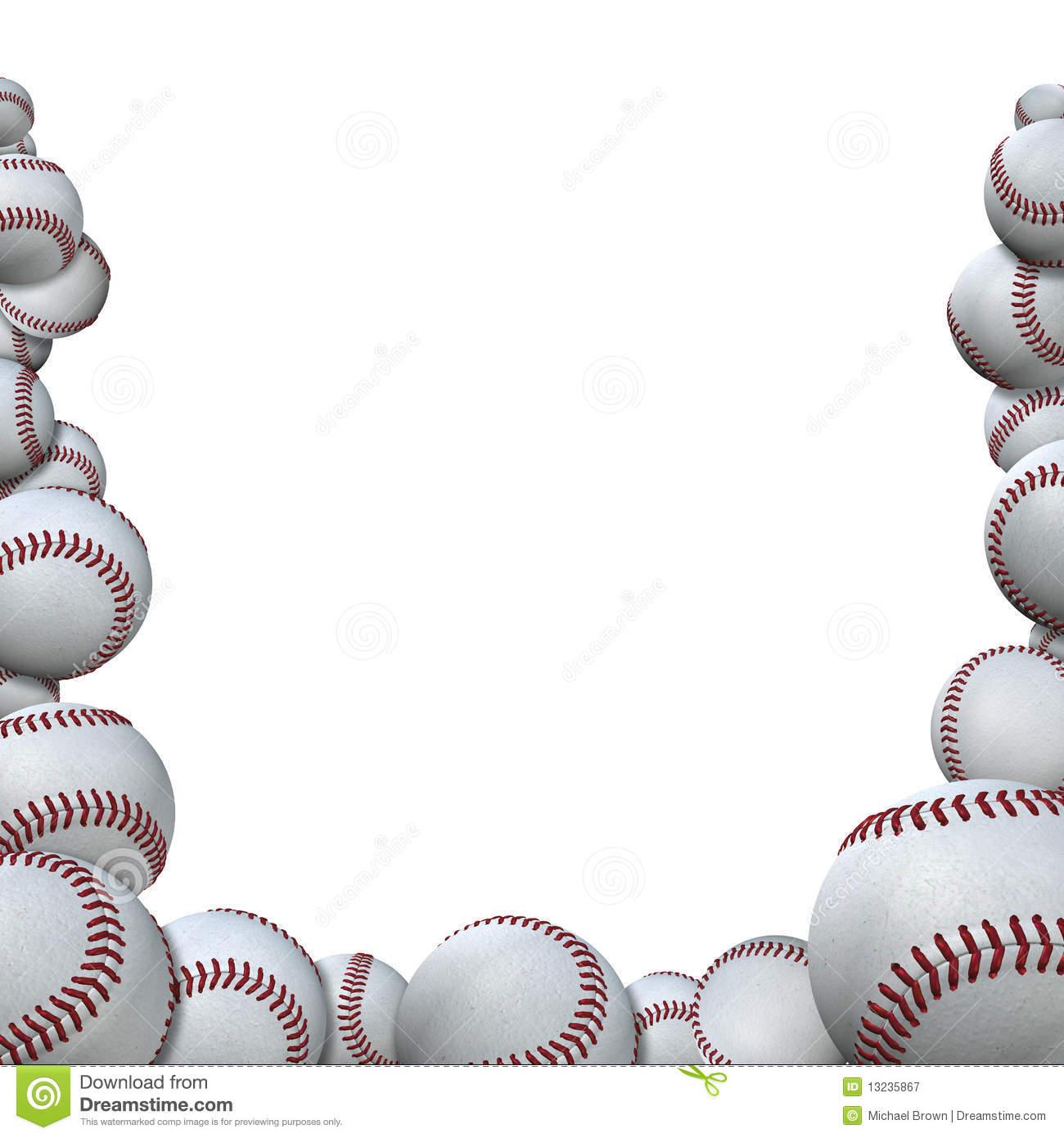 Baseball clipart border, Baseball border Transparent FREE.