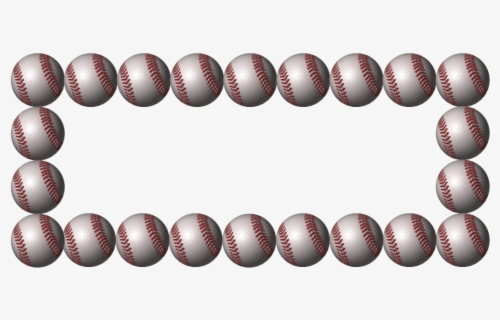 Free Baseball Border Clip Art with No Background.
