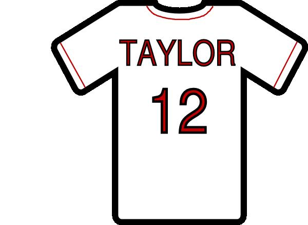 Baseball T Shirt Clipart.