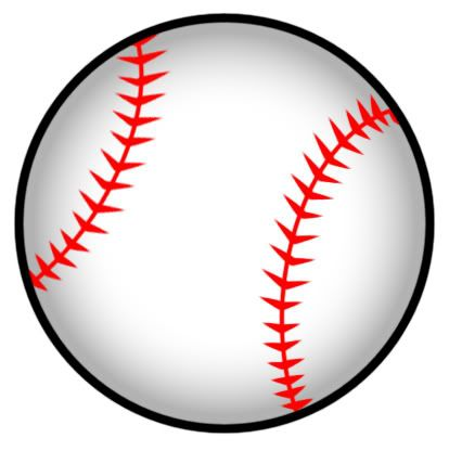 Softball ball clipart free clipart images 3.
