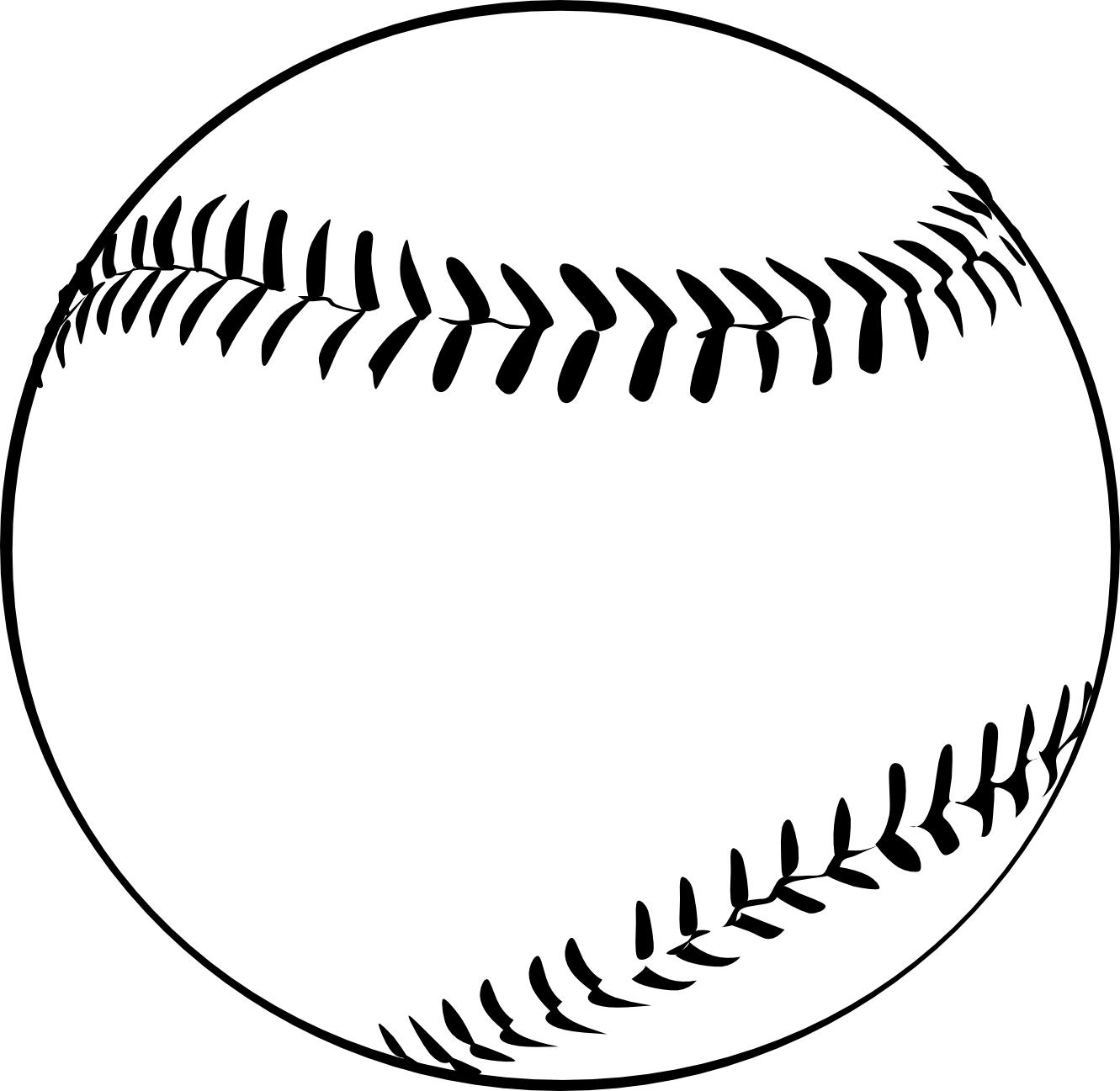 Baseball clipart black and white free clipart images 4.