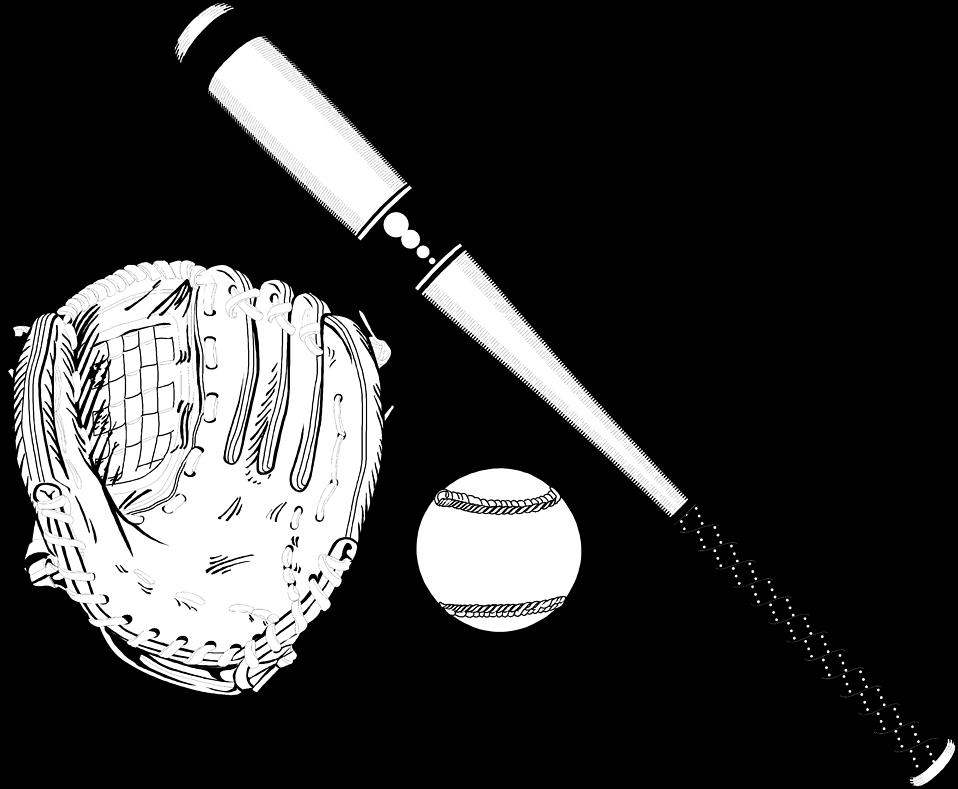 Baseball black and white baseball clipart black and white free.