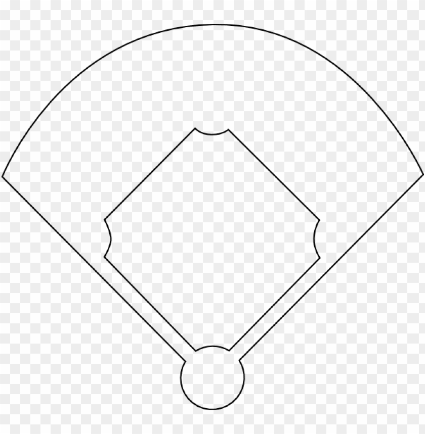 baseball diamond template printable.
