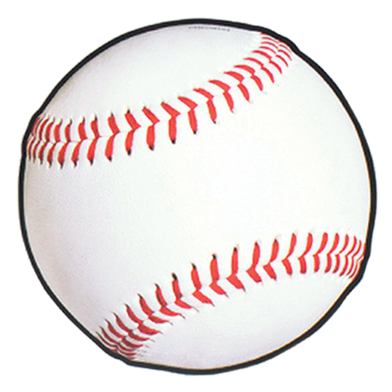 White baseball ball for clipart free image.