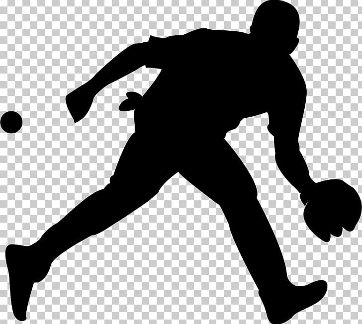 Baseball Silhouette PNG, Clipart, Animation, Arm, Ball.