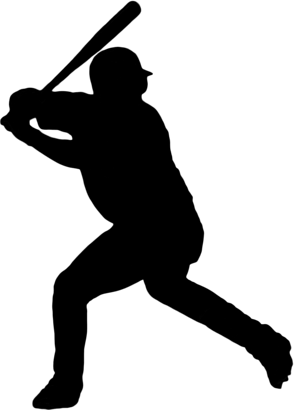 Silhouette Clip art Baseball Softball Portable Network.