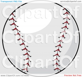 Baseball Glove Clipart With Transparent Background.