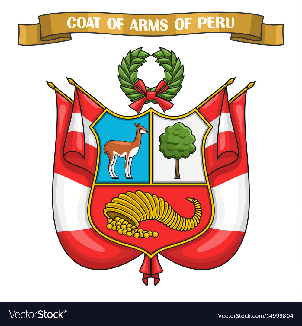 Peruvian coat of arms.
