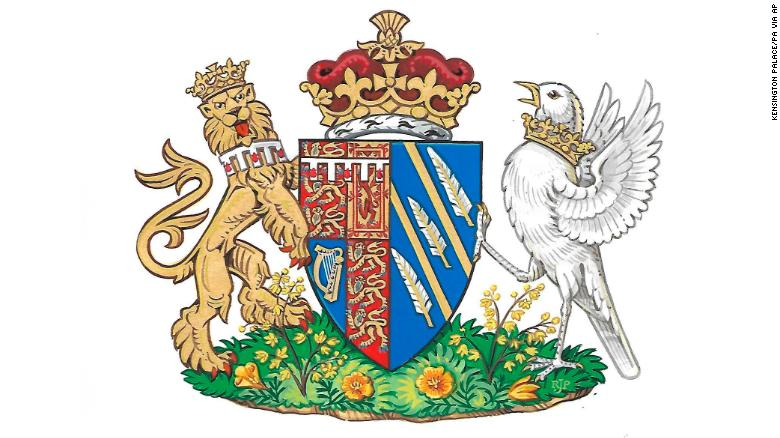 Meghan Markle\'s coat of arms unveiled.