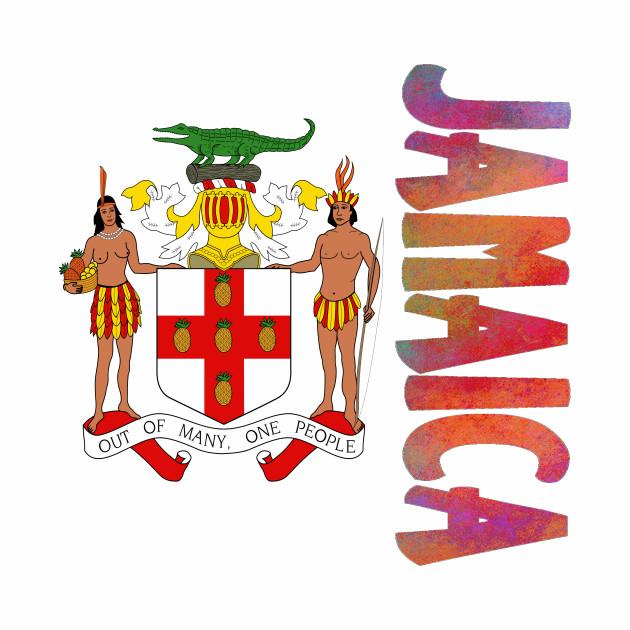 Jamaica Coat of Arms Design.