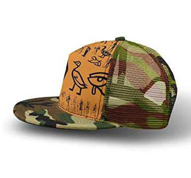 YongColer Men Women Kid Camouflage Ancient Egypt Clipart Hat.