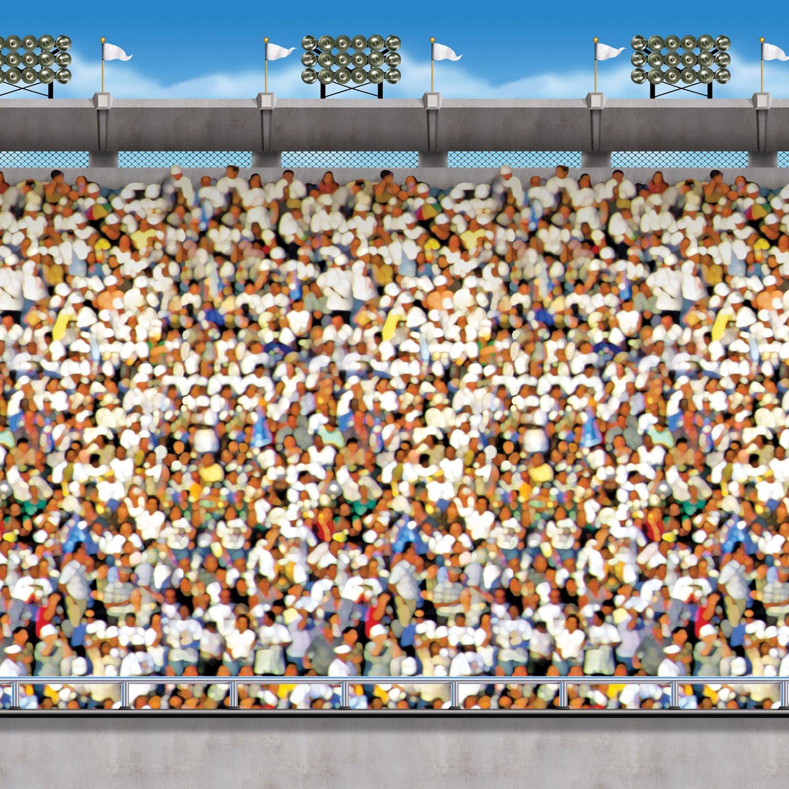 Stadium Crowd Clipart.