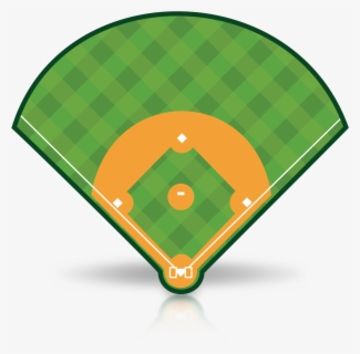 Free Baseball Diamond Clip Art with No Background.