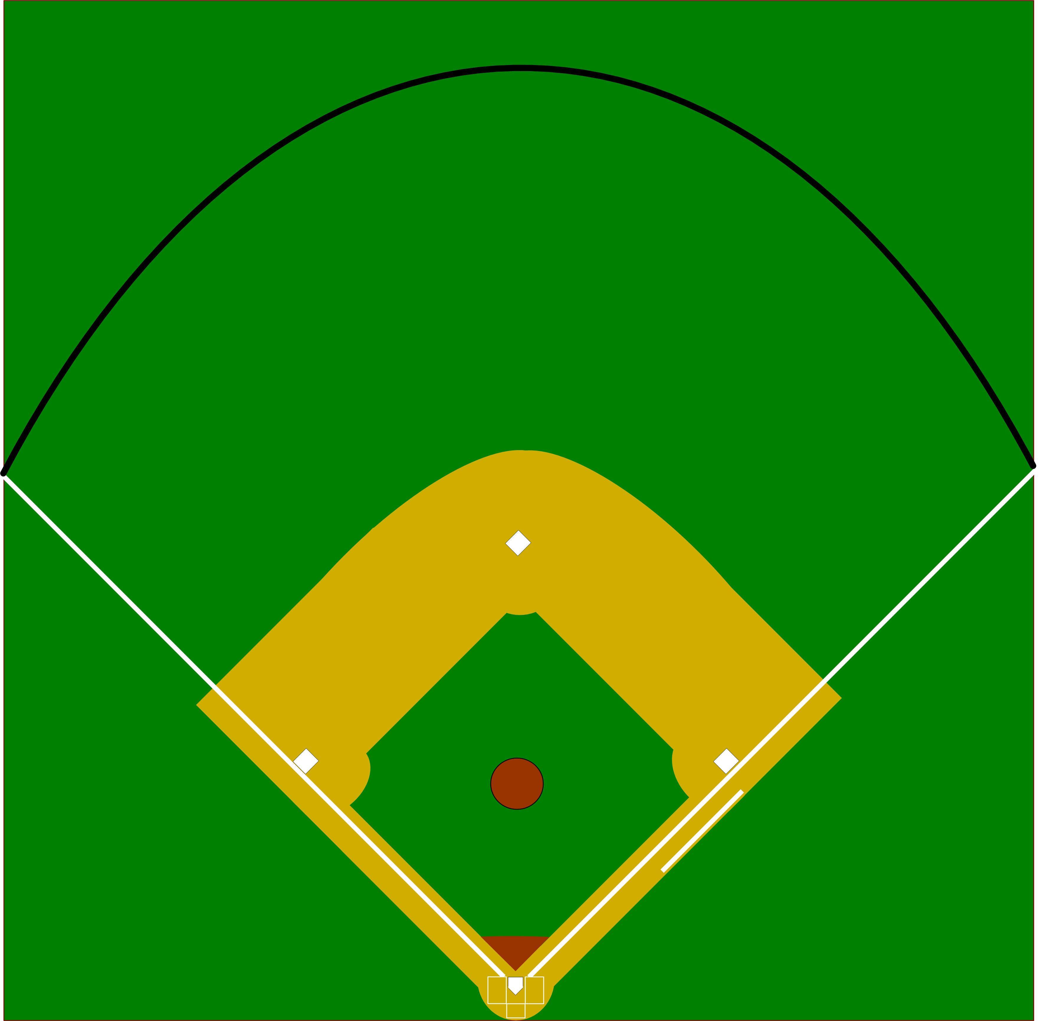 Baseball Diamond Clipart Group (+), HD Clipart.