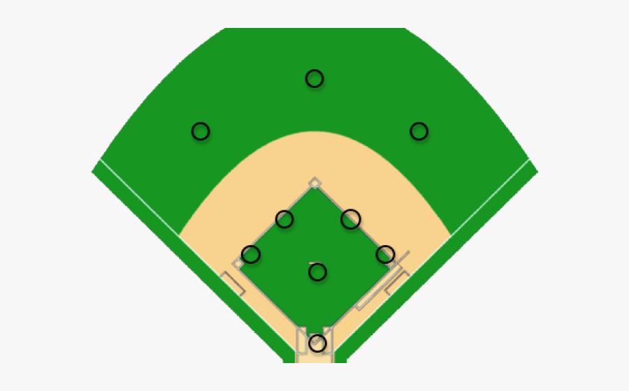 Diamonds Clipart Baseball Field.