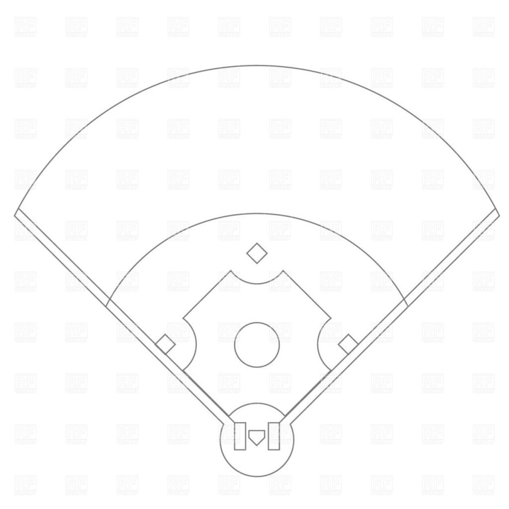 Best Baseball Field Clip Art #4796.
