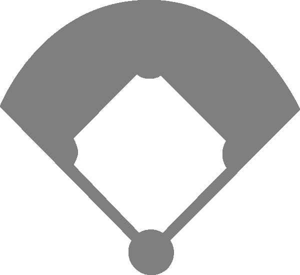 Free Black And White Baseball Diamond, Download Free Clip.