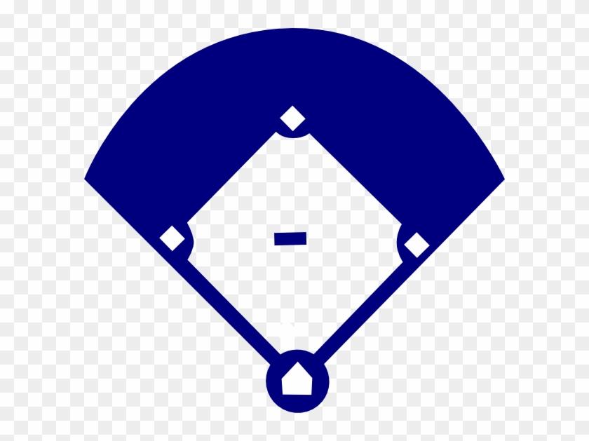Baseball Field Blue Clip Art At Clker.